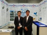 GWorld's first and successful appearance at FOE 2016 in Japan